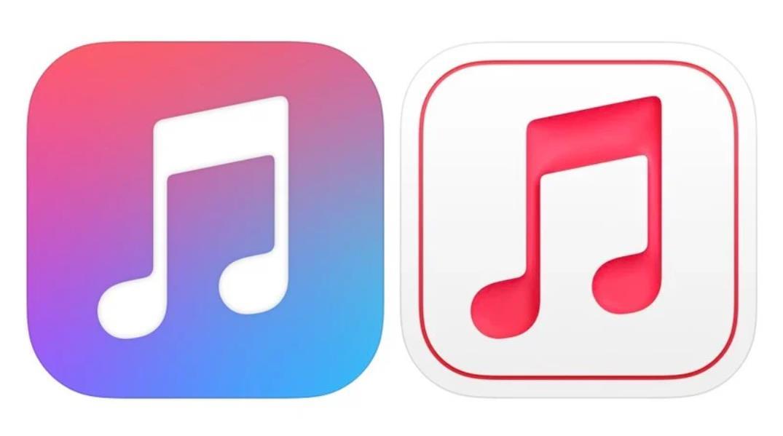 左侧是旧图标,右侧是新图标