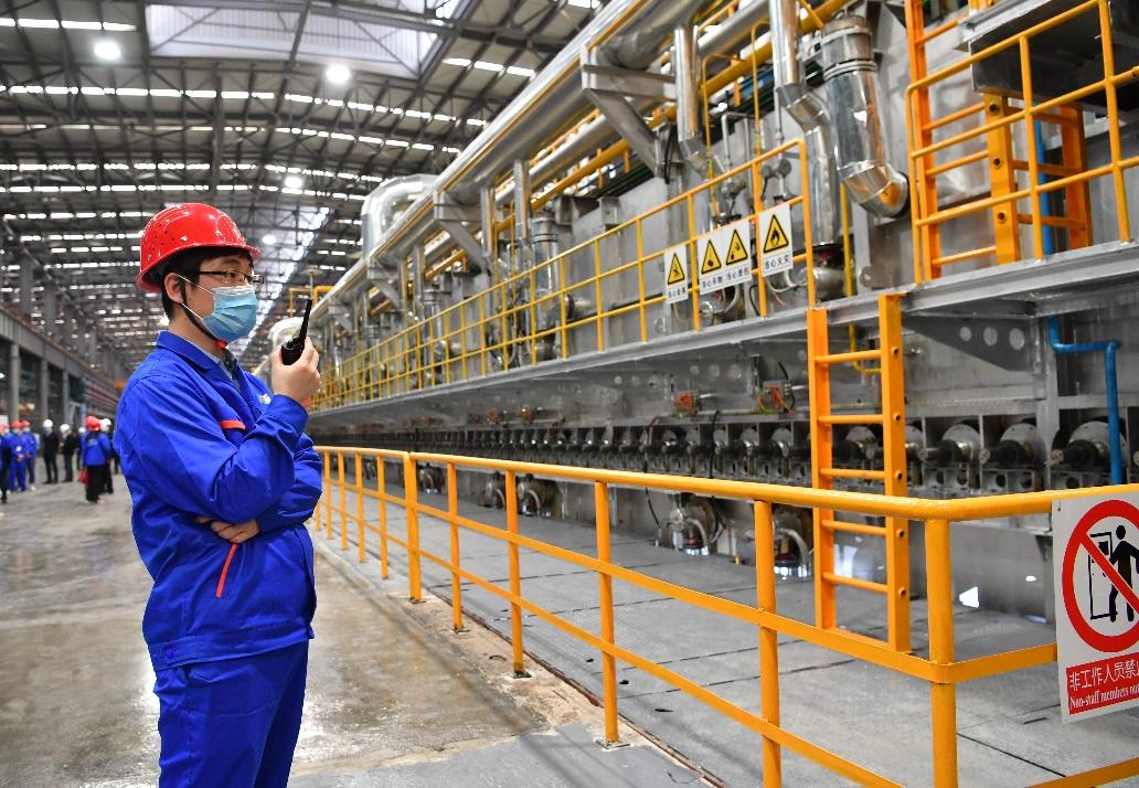 广西移动与南南铝加工携手打造南宁第一家5G智慧工厂