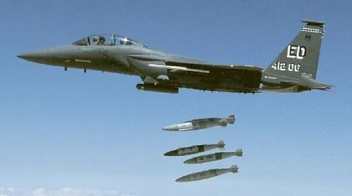 """""""杰达姆""""是美军在反恐战争中使用最多的精确制导炸弹"""