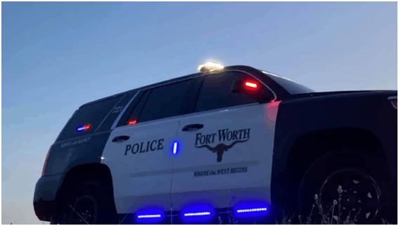 沃斯堡警察局警车 图自美媒