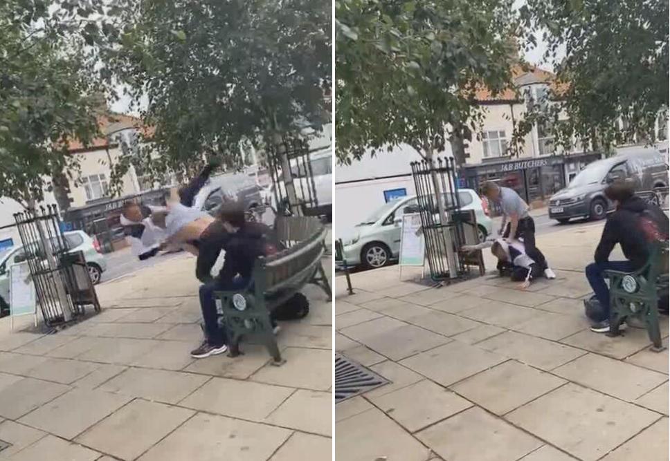 英国男子在街头袭击一16岁少年 不料其是巴西柔术世界冠军