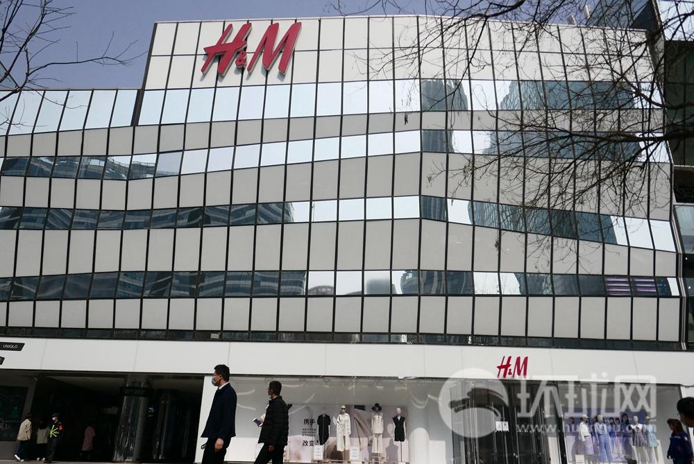 北京三里屯H&M 摄影:环球时报英文版/李昊