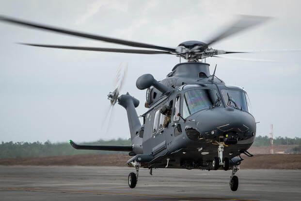 """美国空军为保护洲际导弹基地专门采购的新一代直升机MH-139""""灰狼"""""""