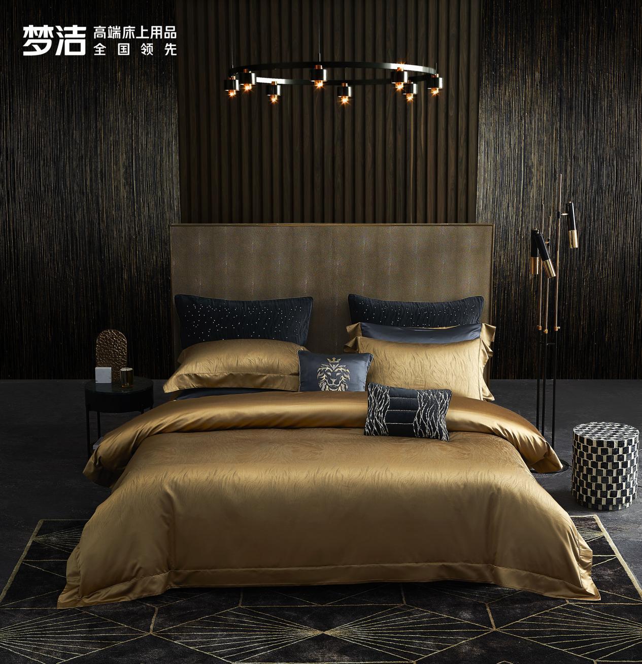 梦洁率先将奢侈品高级成衣工艺标准沿用至床上用品