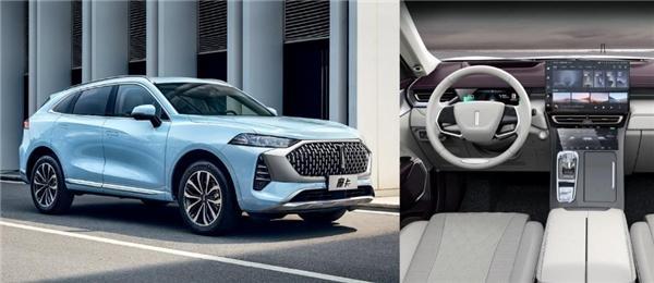 首次亮相上海车展的WEY全新旗舰车型摩卡搭载了商汤SenseAutoCabin智能车舱解决方案